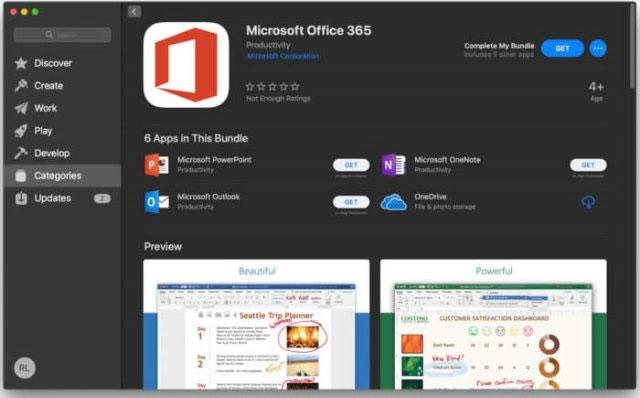 """""""Chúng tôi rất vui mừng được chào đón Microsoft Office 365 đến với Mac App Store cũng như nền tảng macOS Mojave mới"""""""