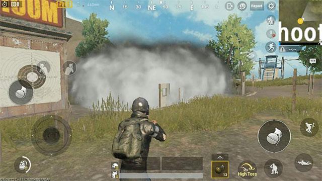 Sử dụng bom khói