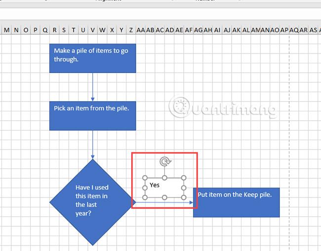 Cách vẽ lưu đồ trong Excel - Ảnh minh hoạ 12