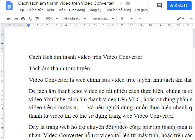Cách đổi hướng trang trên Google Docs - Ảnh minh hoạ 4