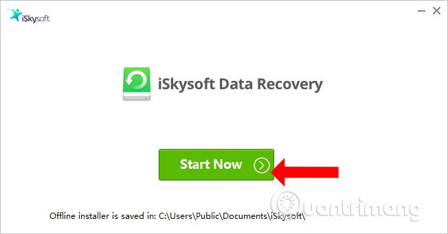 Cách dùng iSkysoft Data Recovery khôi phục dữ liệu - Ảnh minh hoạ 3
