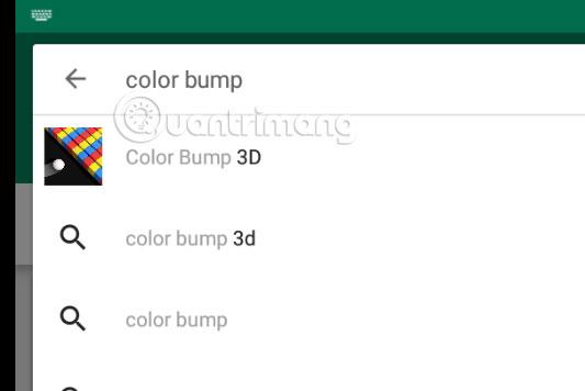 Tìm Color Bump 3D