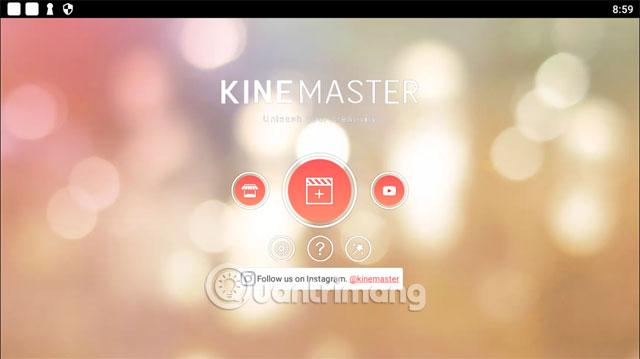 Chọn nguồn video KineMaster