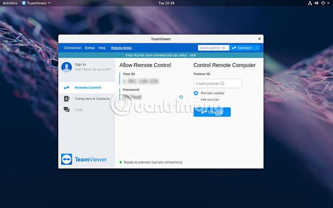 Cách cài đặt và sử dụng TeamViewer trên Linux - Quantrimang com