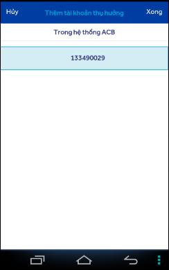 Cách thanh toán hóa đơn, dịch vụ trên ACB Online