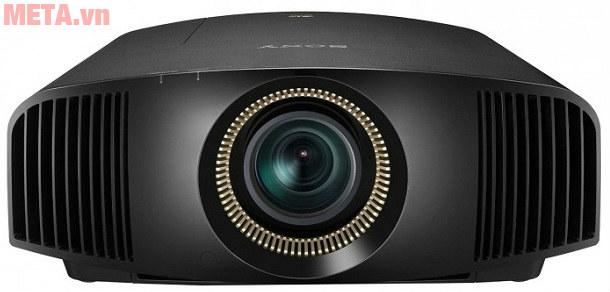 Máy chiếu 4K Sony có thiết kế nhỏ gọn, sang trọng.