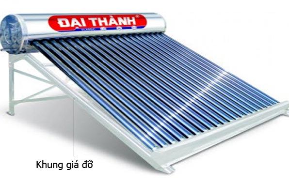 Giá đỡ của máy nước nóng năng lượng mặt trời