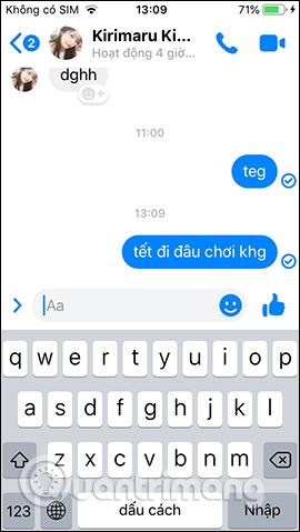 Gửi tin nhắn