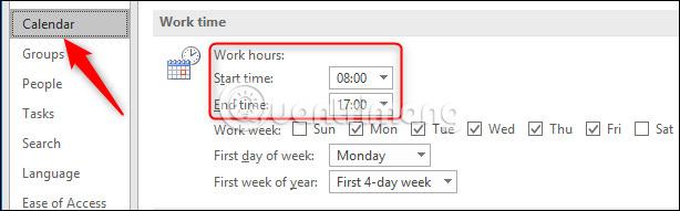 Thay đổi giờ