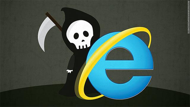 Microsoft lần đầu tiên phát triển Internet Explorer vào năm 1995 và lâu nay đã không còn hỗ trợ phát triển mới cho trình duyệt web này nữa
