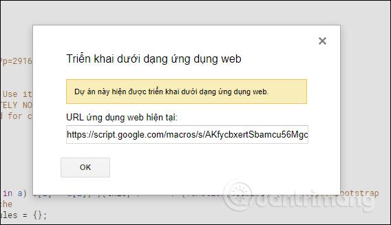 URL chia sẻ