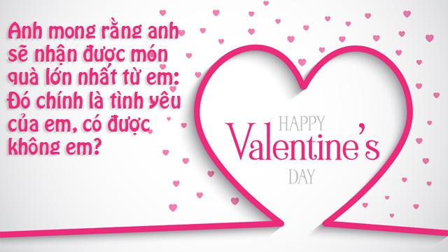 Ảnh lời chúc valentine 10