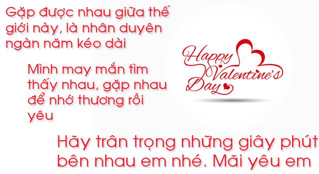 Ảnh lời chúc valentine 6