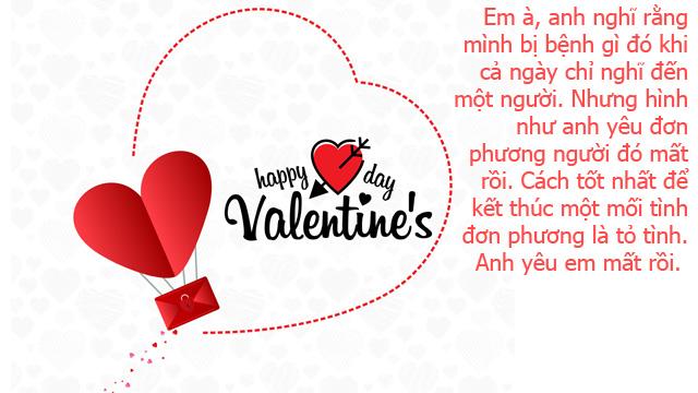 Ảnh lời chúc valentine 11