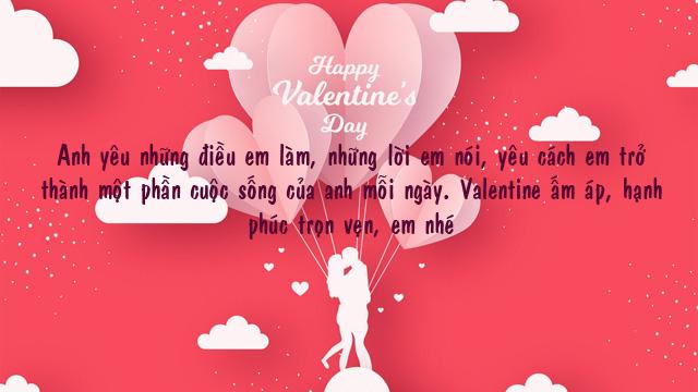 Ảnh lời chúc valentine 9