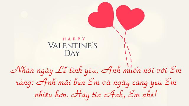 Ảnh lời chúc valentine 8