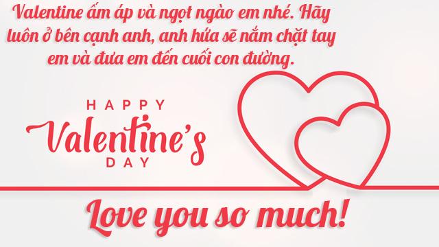Ảnh lời chúc valentine 4