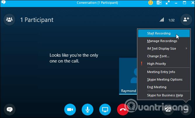 Gọi video trên Skype