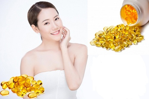 tác dụng làm đẹp da của vitamin E