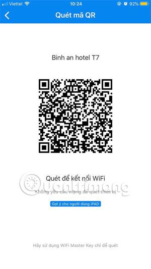 Mã QR Wifi