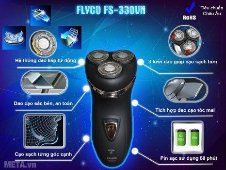 Máy cạo râu Flyco FS-330VN