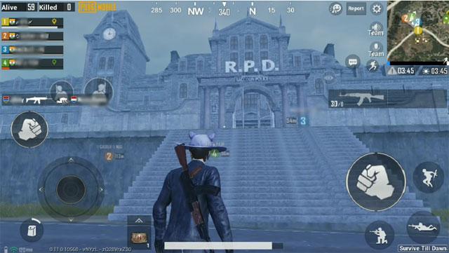 Vị trí của tòa nhà RPD