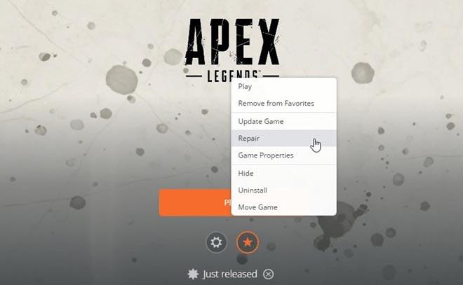 Lỗi Disconnect Apex Legends