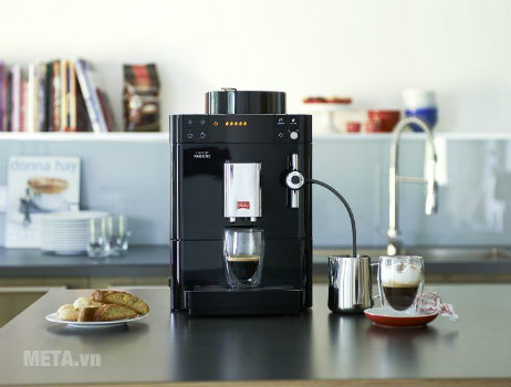 Máy pha cà phê đem lại lối sống hiện đại, tiện ích.