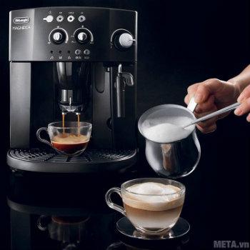 Máy pha cà phê pha được nhiều loại cà phê khác nhau.