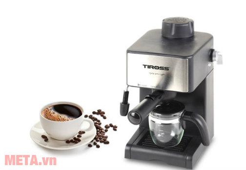 Máy pha cà phê bán tự động Tiross TS621