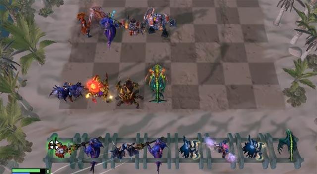 Đội hình đường thẳng Dota Auto Chess 2