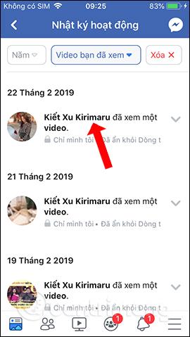Cách tìm lại video đã xem trên Facebook - Ảnh minh hoạ 10