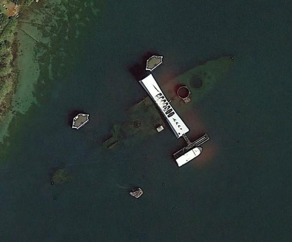 Đài tưởng niệm USS Arizona, Trân Châu Cảng