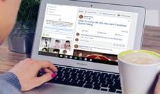 Cách viết chữ màu xanh, viết status, bình luận trên Facebook