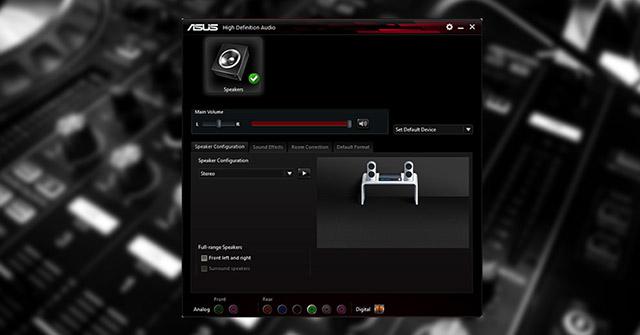 Cách cập nhật và cài đặt lại Realtek HD Audio Manager