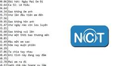 Cách lấy file lời bài hát bất kỳ trên NhacCuaTui