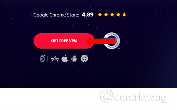 Cách dùng iNinja Proxy VPN kết nối dung lượng không giới hạn