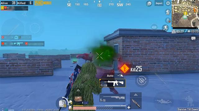 Mẹo chơi PUBG Mobile Zombie
