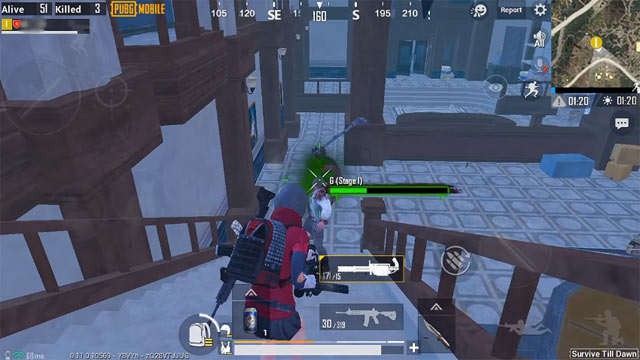Mẹo chơi PUBG Mobile Zombie 2