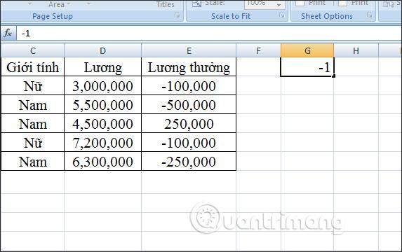 Cách chuyển số âm sang số dương Excel - Ảnh minh hoạ 7