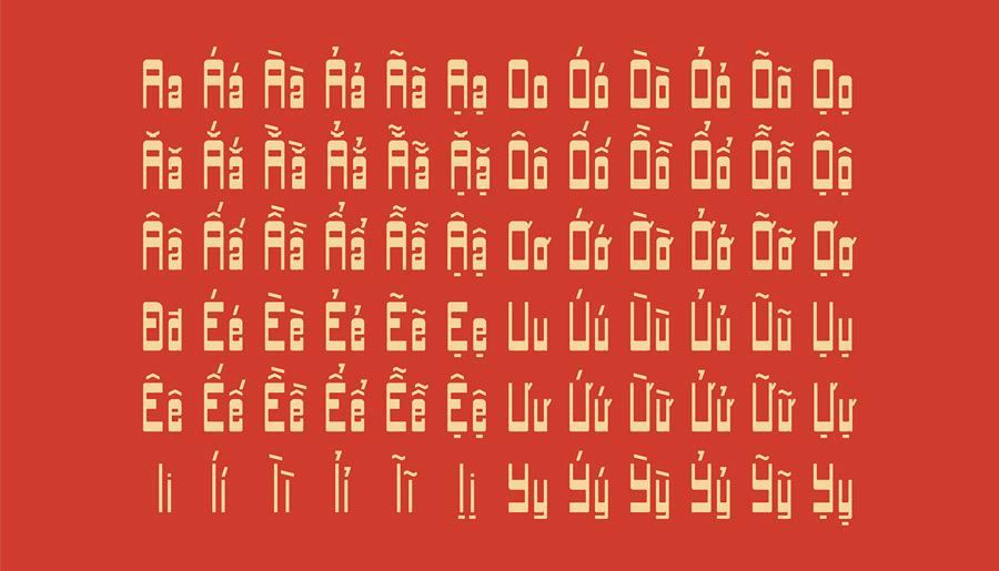 Font chữ Bia Sach Xua 5