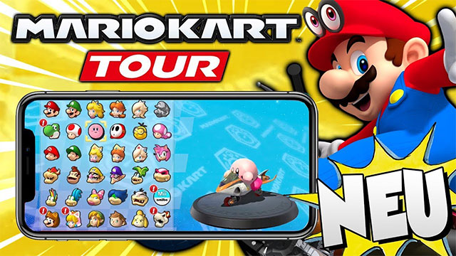 """Trò chơi này được Nintendo đặt tên đầy đủ là """"Mario Kart Tour""""."""