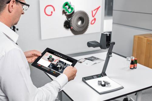 Máy chiếu vật thể được ứng dụng trong nhiều lĩnh vực