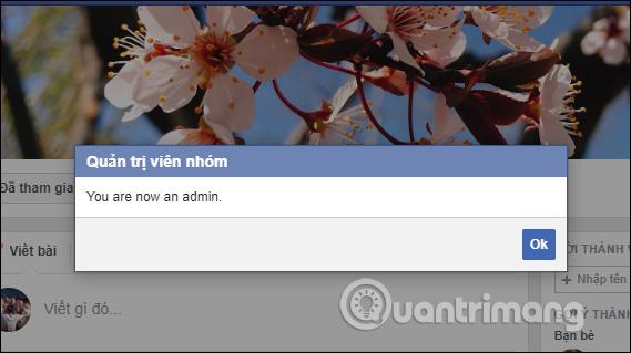 Cách trở thành Admin group Facebook - Ảnh minh hoạ 4