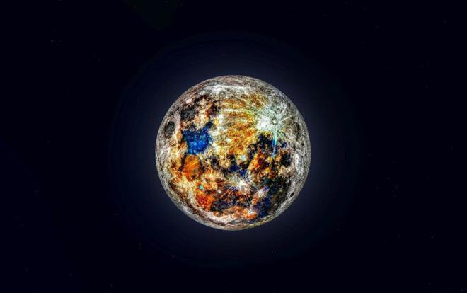 Ảnh chụp Mặt trăng đầy rực rỡ