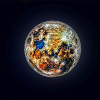 Mời chiêm ngưỡng ảnh chụp Mặt trăng đầy rực rỡ được ghép từ 150.000 bức hình lại với nhau