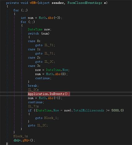 vBM= in Form1 sẽ gọi gRQ= function: