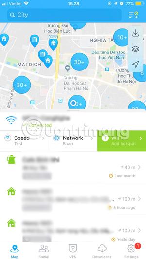 Cách hack pass wifi với WiFi Map ở mọi nơi - Quantrimang com