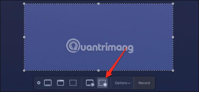 Công cụ chụp màn hình tích hợp của Mac