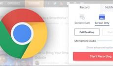 Cách ghi video trên trình duyệt Chrome